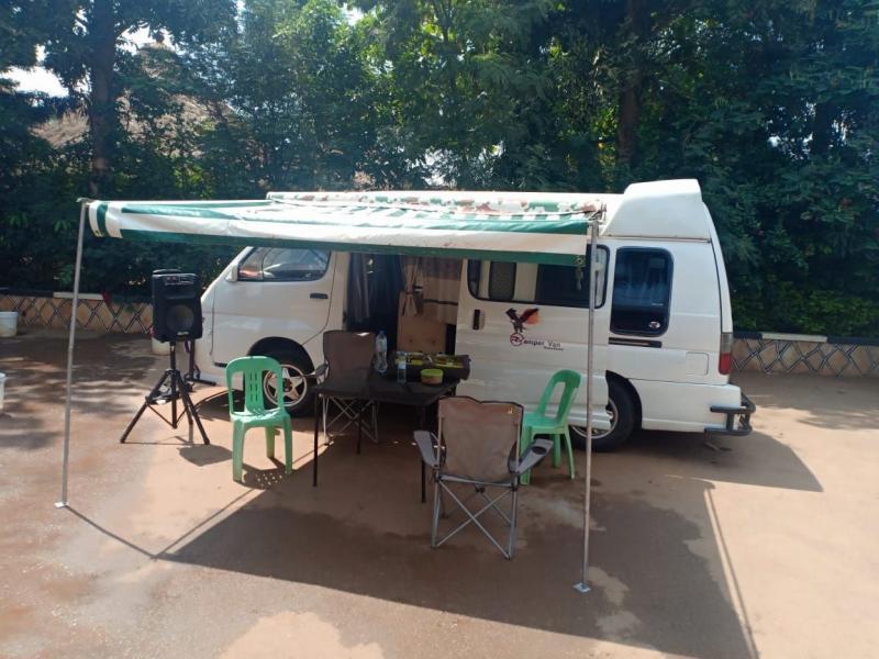 Camper Van with Driver