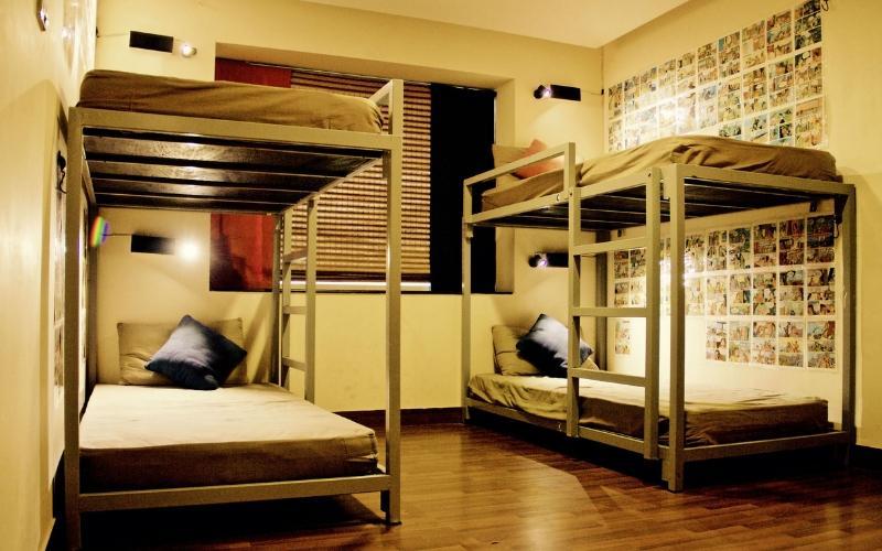 Bed in 4 Bed AC Mixed Dormitory Room with En-suite Bathroom