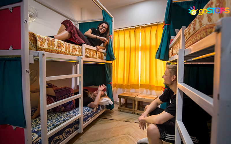Deluxe 6 Bed Non Ac Female Dorm with Ensuite Bath + Free Drop for Sunrise Taj View